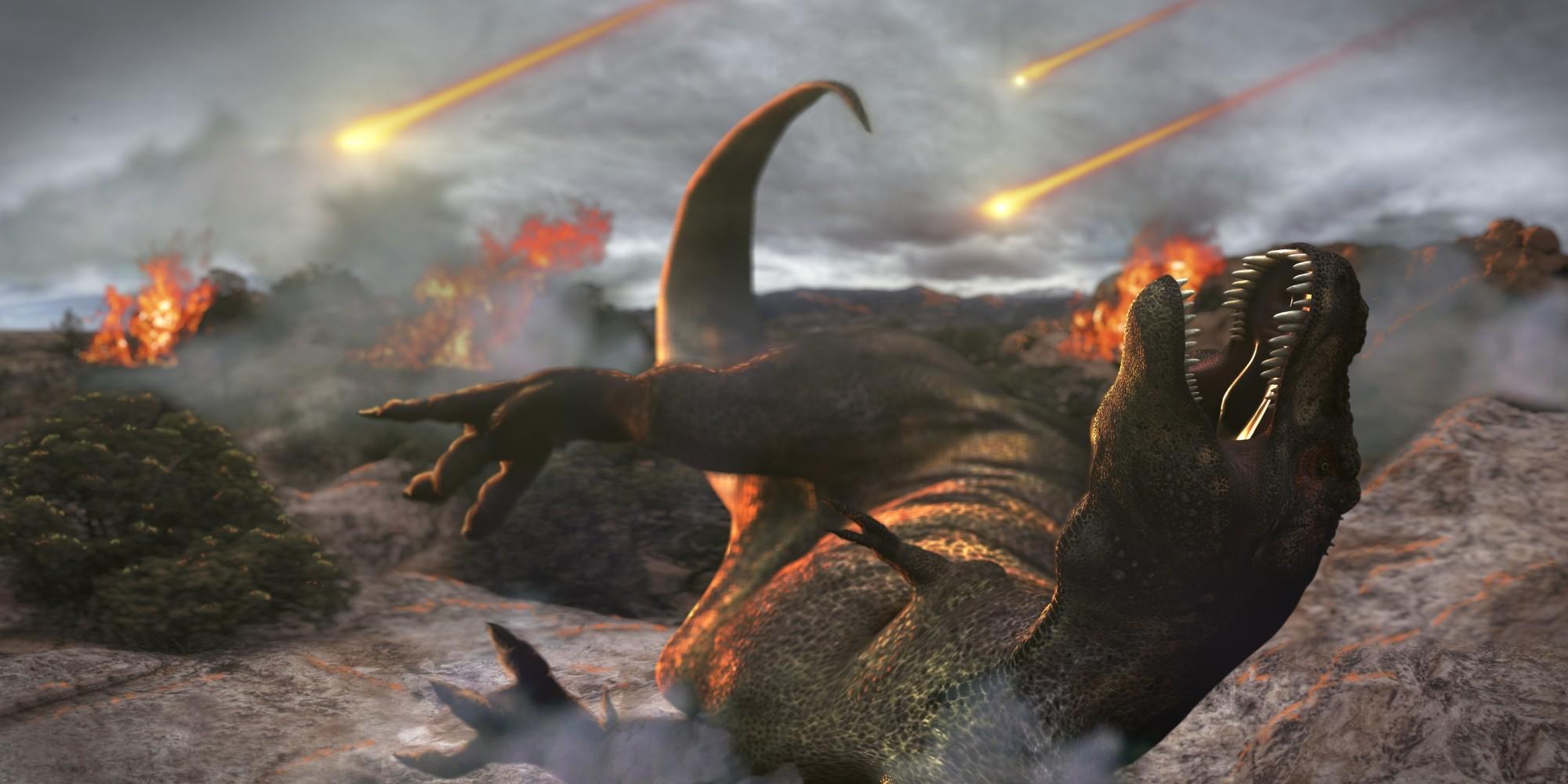 İşte Milyonlarca Yıl Önce Dinozorları ve Dünya'nın Yarısını Yok Eden Meteor